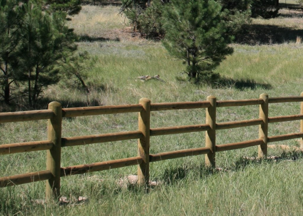 Wooden fence posts types