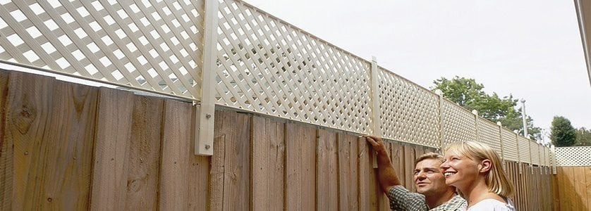 Lattice Fence: An Easy Project for DIYers