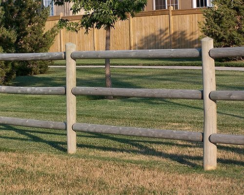 Post and Dowel Fence