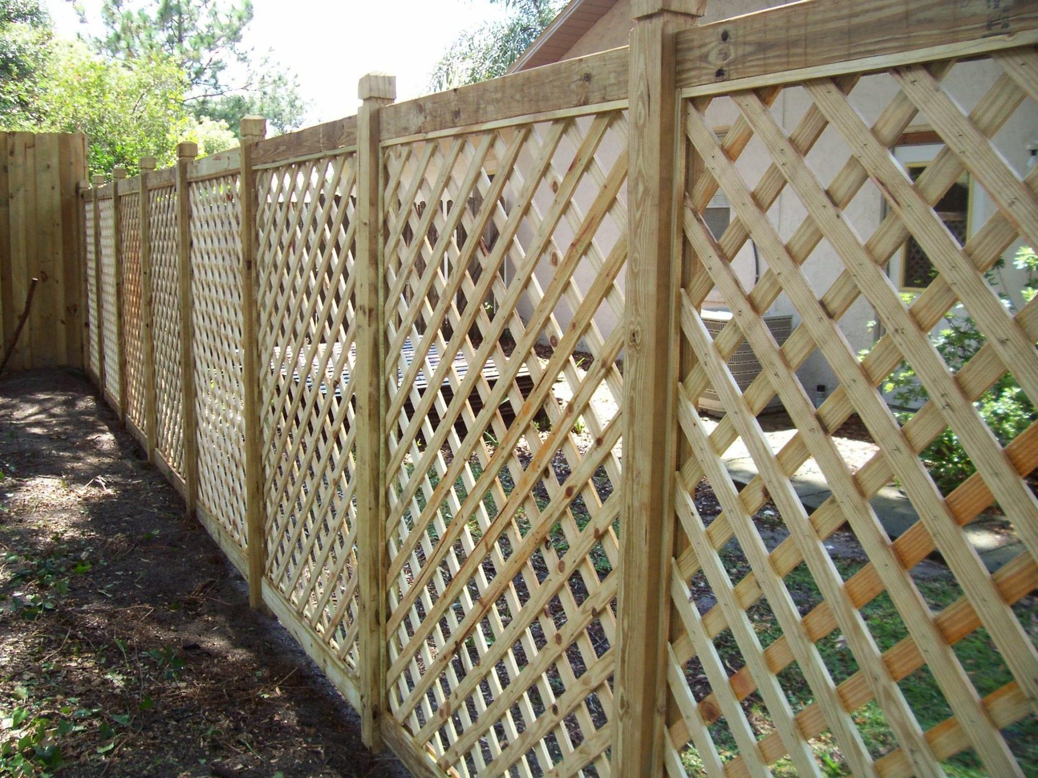 lattice fencing