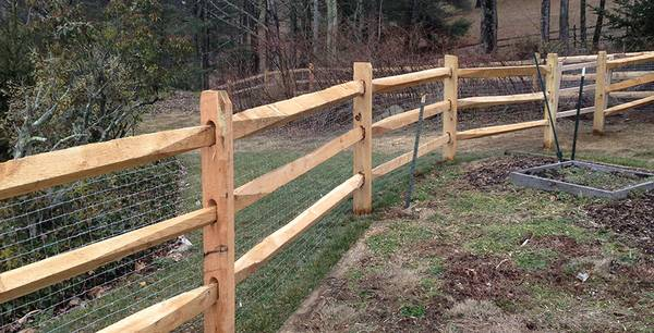 Split Rail Fencing of Yesterday and Today