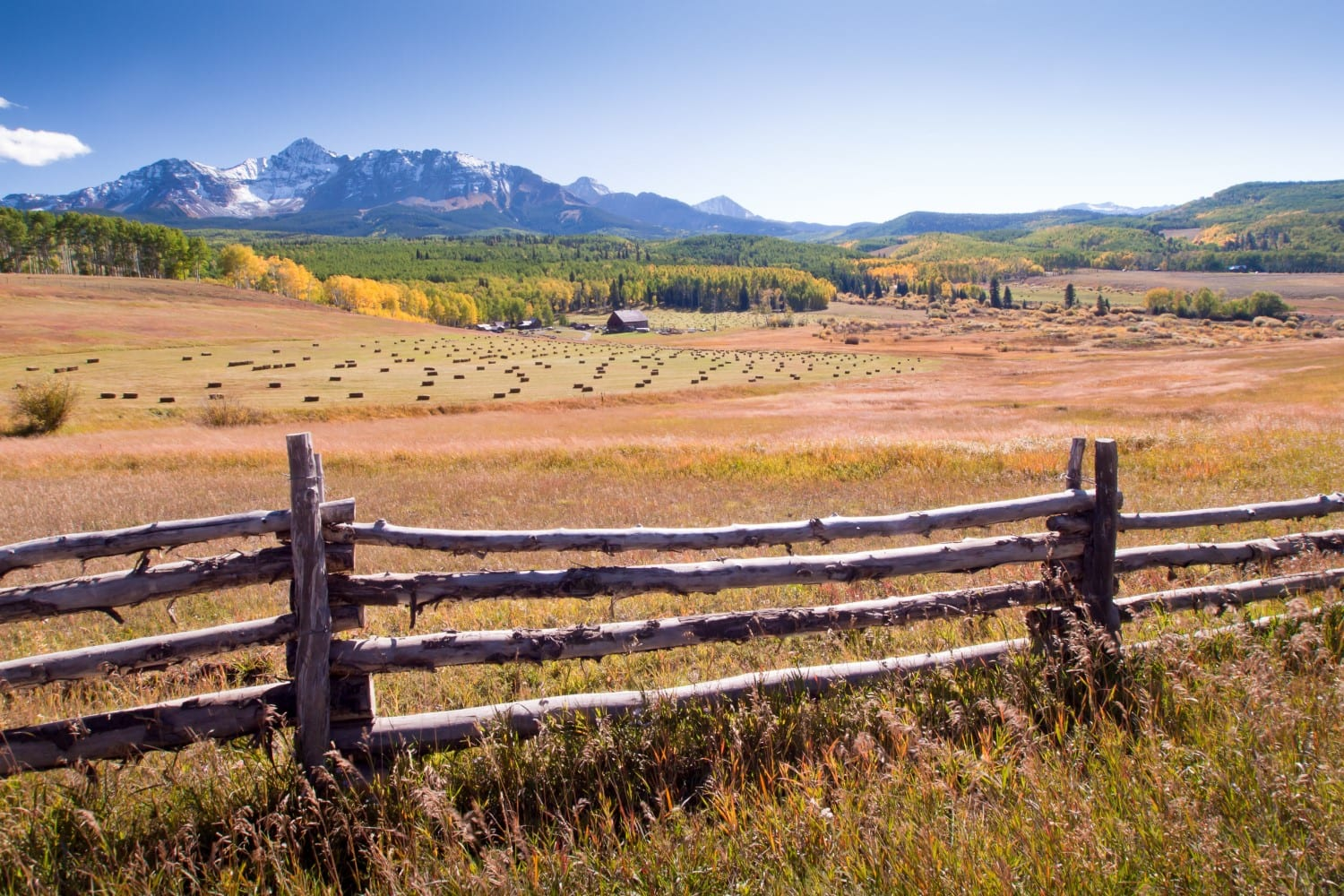 Colorado's Biggest Ranches Use Split Rail Fence