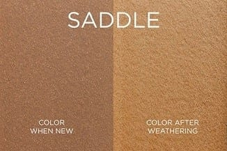 Saddle Trex Fence Color