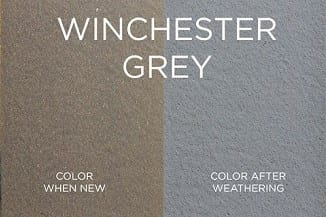 Winchester Grey Trex Fence Color