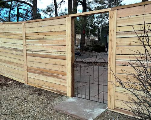 Horizontal Privacy Fence