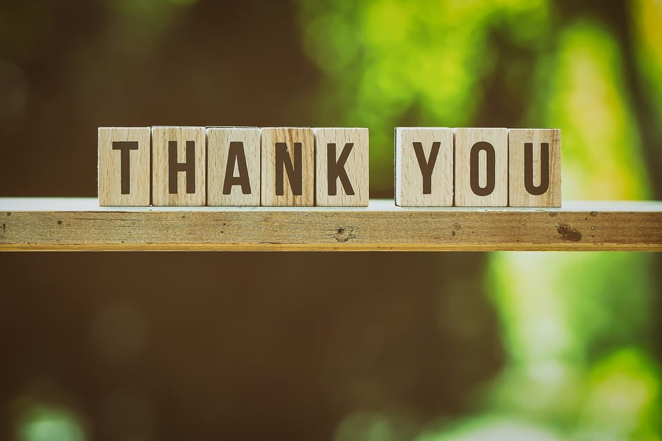 It's National Thank You Month. Do Your Customers Know You Appreciate Them?