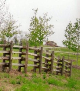 Double Post fence